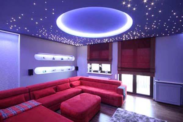 5 led cielo stellato faretti incasso luce bianca fredda for Faretti camera da letto