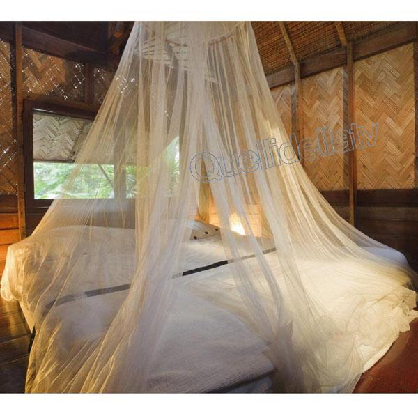 Zanzariera a baldacchino per letto matrimoniale singolo tenda insetti e zanzare - Zanzariera per letto matrimoniale ...