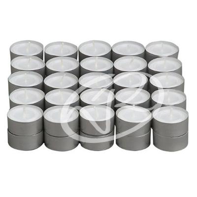 100 candele bianche tealight lumini bianchi durata 4 ore for Brucia essenze ikea