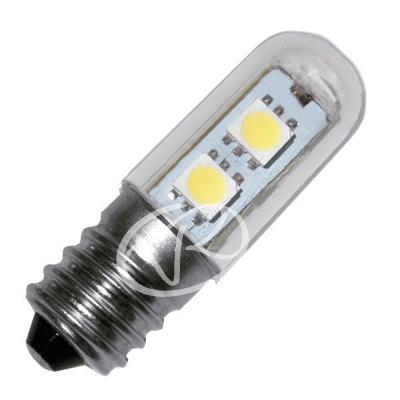 Lampadina frigorifero cappa 7 led smd 5050 e14 1 2w luce for Lampadine a led e14