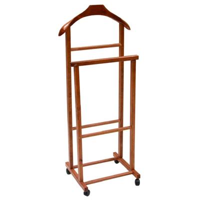 servomuto indossatore appendiabiti in legno noce camera da letto servo muto. Black Bedroom Furniture Sets. Home Design Ideas