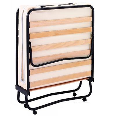 Letto pieghevole con materasso rete a doghe in legno singolo brandina per casa campeggio - Letto pieghevole con materasso ...