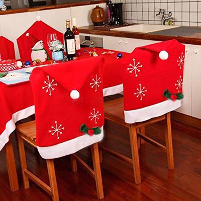 4 coprisedia natalizio cappello di babbo natale con - Coprisedia natalizi ...