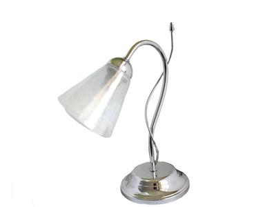 Lumetto lampada da comodino abat jour e14 lume in vetro lampada da ...
