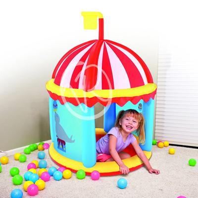 Gioco gonfiabile circo per bambini con 100 palline giochi giardino gonfiabili - Casa gonfiabile per bambini ...