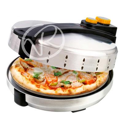 Forno pizza girevole in pietra 100 gradi fiseldem fornetto - Forno elettrico pizza casa ...