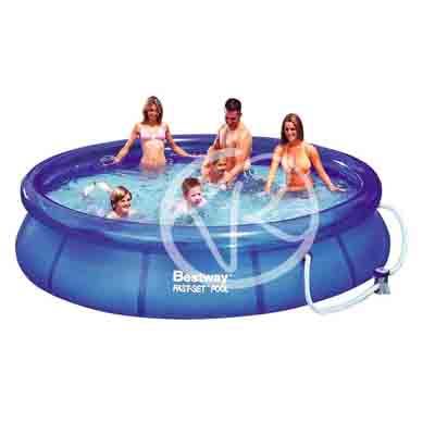Piscina fuori terra bestway rotonda 366x76 cm anello - Manutenzione piscina fuori terra bestway ...