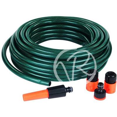 Tubo per acqua irrigazione giardino 15 mt flessibile - Prezzo tubo irrigazione giardino ...
