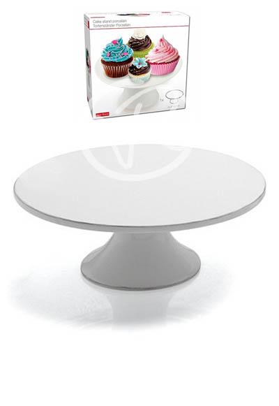 Alzata per dolci torte alzatina torta in ceramica bianca ...