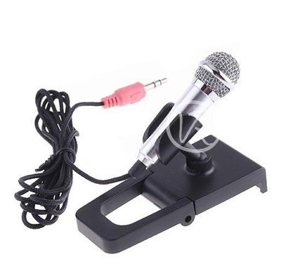 Microfono da tavolo per pc computer notebook in metallo con supporto - Microfono da tavolo wireless ...