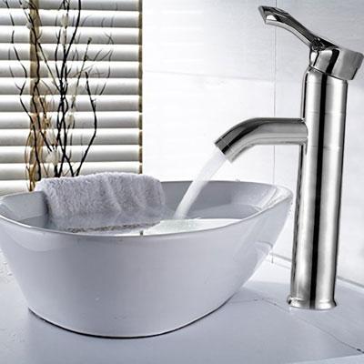Rubinetto miscelatore bagno monocomando in ottone - Miscelatore bagno moderno ...