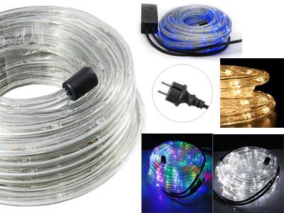 Tubo a led luminoso per natale luci natalizie per esterno for Tubo luminoso led per esterno