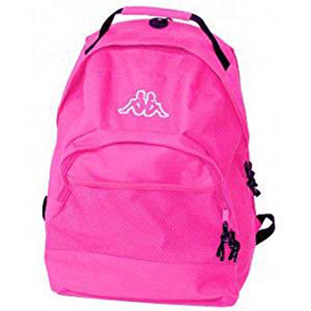design di qualità 936ad 2e2ba Dettagli su Kappa zaino sidney per ragazza scuola tempo libero viaggi borsa  da donna rosa