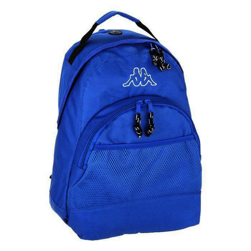negozio online e3570 9d492 Dettagli su Kappa zaino sidney per ragazzo scuola tempo libero borsa  zainetto da viaggio blu