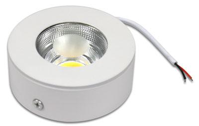 Faretto led cob 5 watt montaggio esterno a soffitto luce for Led luce bianca