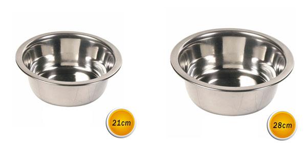 chaussures de tempérament professionnel de premier plan style limité Ciotola per cane in acciaio per cibo acqua scodella da cani ...