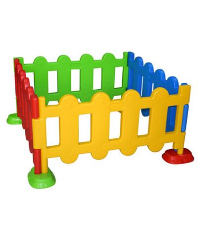 Staccionata In Plastica Giardino.Box Bambini Per Giardino Recinzione Area Giochi 4 Pannelli In